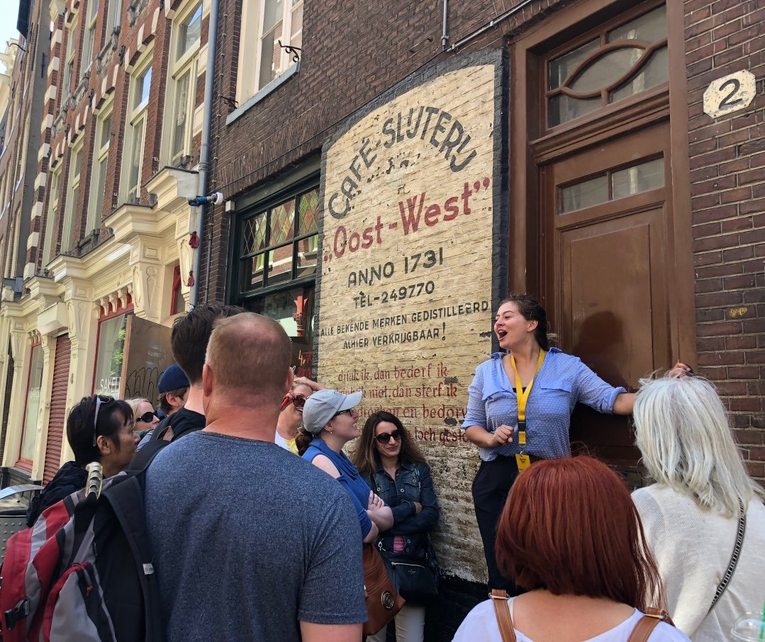 Free Walking Tour Amsterdam guide